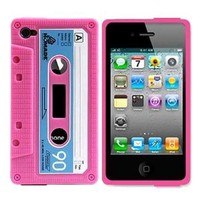 Vintage Cassette Tape Phone Shell Case for Iphone5/5s