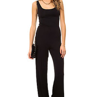 The One Deeper Jumpsuit in Black