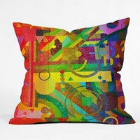 DENY Designs Nick Nelson Future Patterns Decorative Pillow