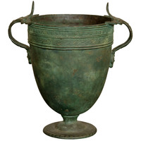 A Bronze Vase After The Antique Circa 1880