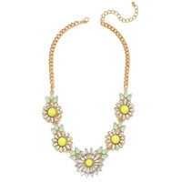 Sunny Daisy Chain Necklace