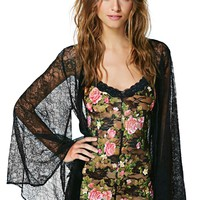 Nasty Gal Everbloom Lace Teddy