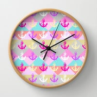 Anchors Wall Clock by Ornaart