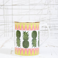 Kiss Her by Bianca Hall Pineapple Mug - Urban Outfitters