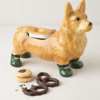Pedigreed Cookie Jar, Corgi