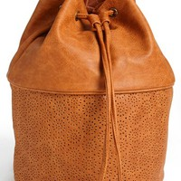 Lulu Laser Cut Drawstring Backpack (Juniors) | Nordstrom