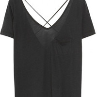 Elizabeth and James Ilias Supima cotton-blend top – 45% at THE OUTNET.COM