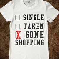SINGLE TAKEN GONE SHOPPING