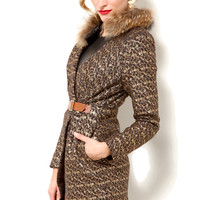 Elliatt Metallic Fox Jacket