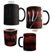 Nightmare on Elm Street Freddy Glove and Shirt Morphing Mug - Filmcells Ltd - Horror: Nightmare on Elm Street - Mugs at Entertainment Earth