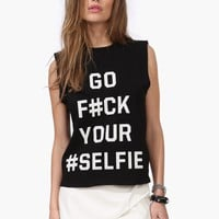 F#ck Your Selfie Tank