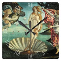 Venus Goddess of Love Clock
