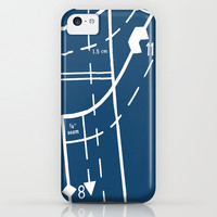 Pattern Master Navy iPhone & iPod Case by Project M