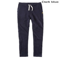 Dark cotton-blend jersey sweatpants for men from Vintage rugged canvas bags