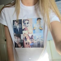Our Second Life O2L Group Tee White Short Sleeved TShirt Unisex Adult Size Small, Medium, Large and XLarge