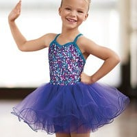 Confetti Sequin Tutu Dress - Little Stars