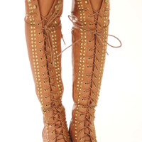 Escape From The City Boots: Cognac