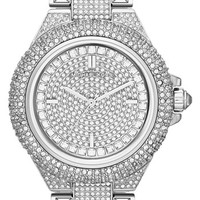 Michael Kors 'Camille' Crystal Encrusted Bracelet Watch, 44mm | Nordstrom