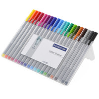 Staedtler 'Triplus Fineliner' Assorted Ink Super Fine Pens (Pack of 20)