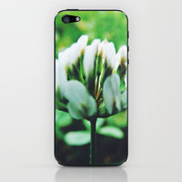 Clover iPhone & iPod Skin by Kelly Sweet