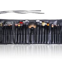 SHANY Masterpiece Signature Collection Brush Set - 24pcs Natural/Synthetic Bristle With Pouch, Storage & Instruction - Limited Time Offer