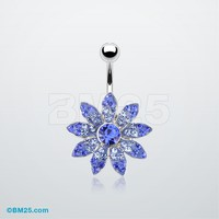 Gleam Flower Belly Ring