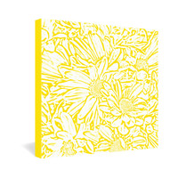 Lisa Argyropoulos Daisy Daisy In Golden Sunshine Gallery Wrapped Canvas