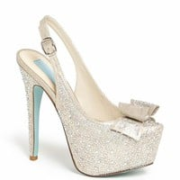 Blue by Betsey Johnson 'Toast' Pump