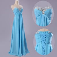 NEW Charming Chiffon Wedding Formal Prom Cocktail Party Bridesmaid Evening Dress