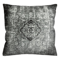 H&M - Velvet Cushion Cover - Dark gray