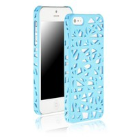 "Generic Bird's Nest Hard Case for Apple iPhone 5 5G 6th 5.5"" x 3.0"" x 0.4"" Sky Blue"