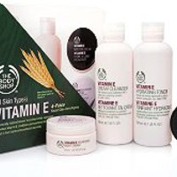 Vitamin E 4-Piece Skin-Care Kit