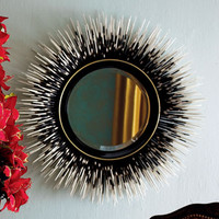 Janice Minor Porcupine Quill Mirror