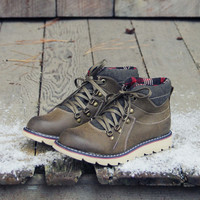 The Logger Boots in Sage