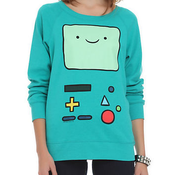 Adventure Time BMO Reversible Girls Pullover