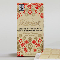 Divine White Chocolate with Strawberries
