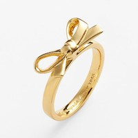kate spade new york 'skinny mini' bow ring | Nordstrom
