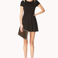Cool-Girl Fit & Flare Dress