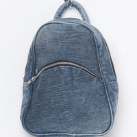 Motel Vintage Denim Small Backpack 0001