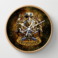 Gryffindor and ravenclaw United team Decorative Circle Wall Clock Watch by Three Second