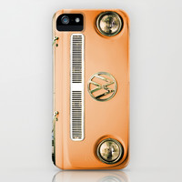 Summer of Love - Celosia Orange iPhone & iPod Case by Olivia Joy StClaire
