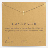 Dogeared 'Reminder - Faith' Boxed Pendant Necklace | Nordstrom