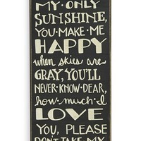 Primitives by Kathy 'Sunshine' Box Sign | Nordstrom