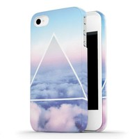 Clouds Triangle iPhone 5/5s Case - Ankit