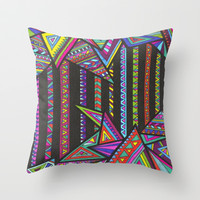Revival Throw Pillow by Erin Jordan