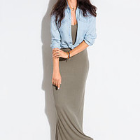 Ribbed Maxi Dress - Victoria's Secret