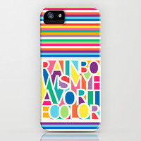 My Favorite Color iPhone & iPod Case by Jacqueline Maldonado