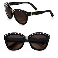 Square Studded Sunglasses
