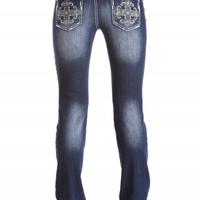 SASHA STRAIGHT CROSS PREMIUM JEANS