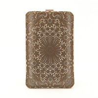 Leather iPhone/iTouch/HTC Desire&amp;Mozart Case  by tovicorrie